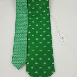 NWT Southern Tide Mens Necktie Island Green Tie